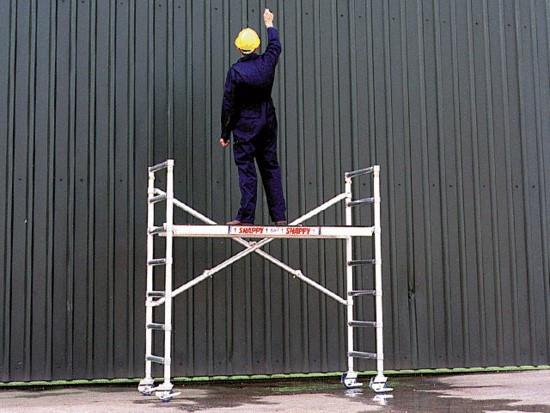 Hantverkarställning, SMAL, Plattformshöjd max 1,95 meter