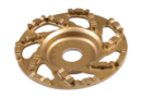 Slipskål Guld 125mm 30/40 grit Till Handhållen betongslip