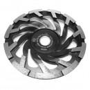 Slipskål Betong 125mm, Black magic, Till Handhållen betongsl