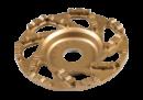 Slipskål Betong 125mm, Guld, Till Handhållen betongslip