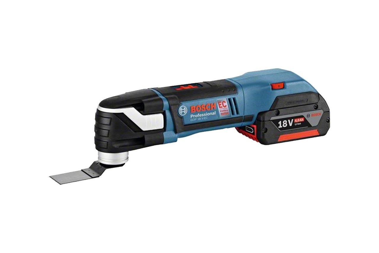 Multicutter, Batteri 18V, Slip och Kapmaskin